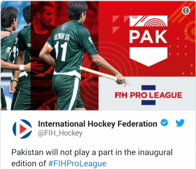 Pakistan Hockey Gets The Worst Blow From International Hockey Federation