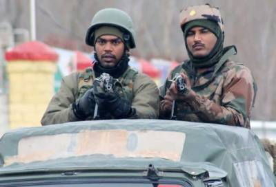 Indian troops harass family, desecrate martyr's banners