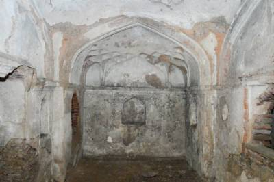One of the oldest era monument discovered in Lahore Fort, Pakistan