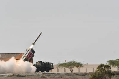 Pakistan successfully test-fired short-range surface-to-surface ballistic missile 'Nasr'