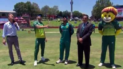 Pakistan wins the toss and elected to bat first in third ODI against South Africa