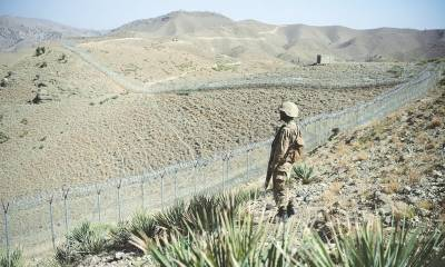Pakistan Afghanistan border fence results in stopping terrorism in Pakistan: Report