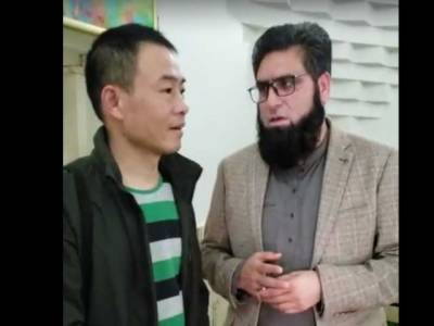 KP Minister converts Chinese National to Islam