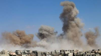 US-led coalition forces' missiles strikes kill 42 in Syria