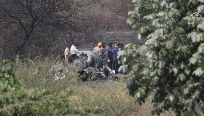 Indian Air Force Mirage 2000 crashes, both fighter pilots killed