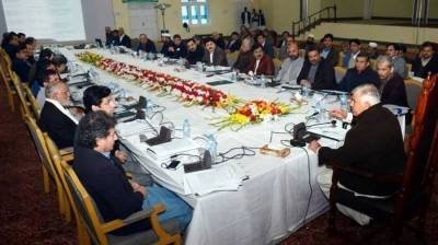 KP Cabinet for the first time in history held meeting in erstwhile FATA