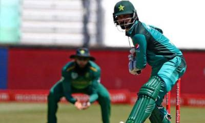 Pakistan's veteran all rounder Mohammad Hafeez hit with an injury