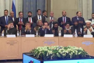 Surprise change in Afghan Taliban stuns audience at Moscow talks