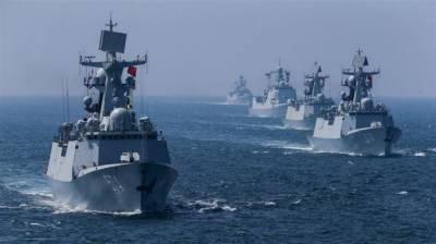 China deployed 100 warships in South China Sea to counter US Military buildup