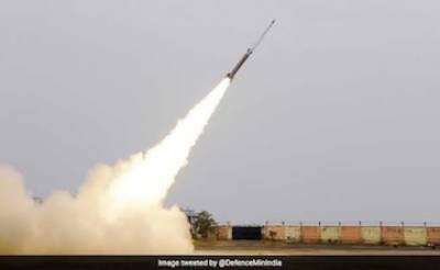 India test fires indigenously developed SFDR Missile System