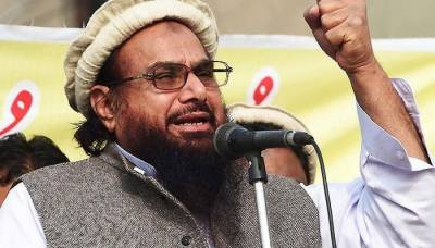 Indian Agencies register case against Hafiz Saeed led FIF