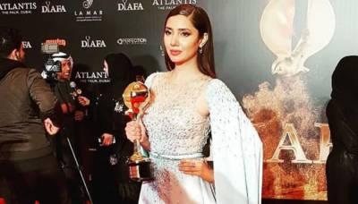 Pakistan's Mahira Khan honoured with prestigious award at International Film Festival