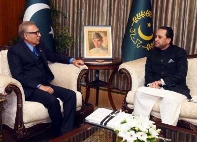 President Arif Alvi assures full cooperation for development of education in GB