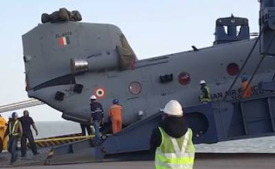 State of the art Military Helicopters for Indian Air Force arrive from US under mega defence deal