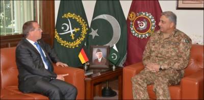 German envoy lauds enhanced security in Pakistan in meeting with COAS