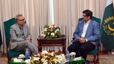 President, CM Sindh discuss political situation