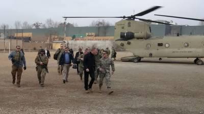 Acting US Defense Secretary in Afghanistan to meet Ghani