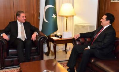 Commander-in-Chief of Islamic Alliance, FM exchange views on regional peace, stability