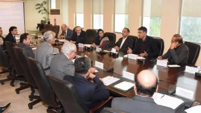 Asad Umar reviews progress on formation of proposed framework