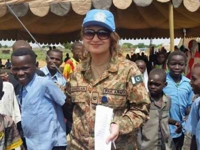 Pakistan achieves goal of female deployment in UN Peacekeeping Missions