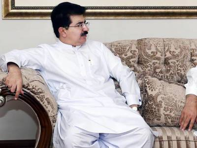 Chairman Senate meets Sindh Governor