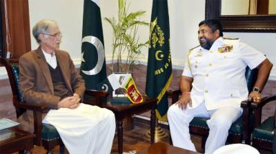 Khattak calls for enhancing Pakistan, Sri Lanka defence ties