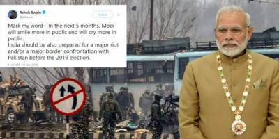 Indian born foreign journalist predicted major border confrontation with Pakistan to benefit PM Modi ahead of Elections