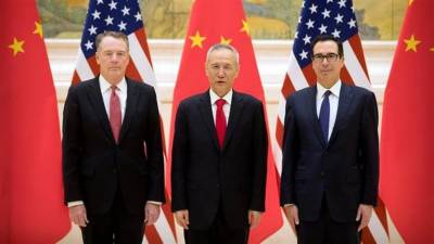 New round of 2-day trade talks b/w China, US begins in Beijing