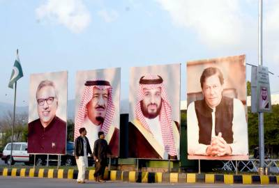 Historic welcome awaits Saudi Crown Prince who arrives in Pakistan tomorrow
