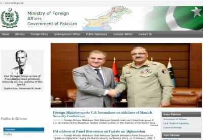 Pakistan's foreign office website being restored across World