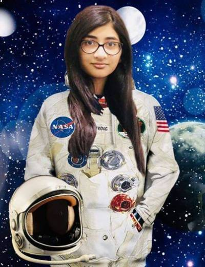 Pakistani 8th grader student selected for internship programme by NASA