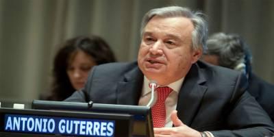 UN chief deplores humanitarian situation in Gaza