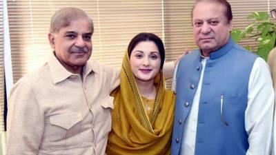 Shehbaz, Maryam inquire after Nawaz at Jinnah Hospital