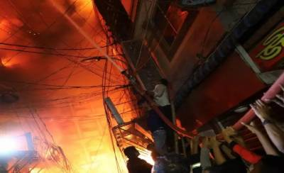 Bangladesh building fire kills at least 70