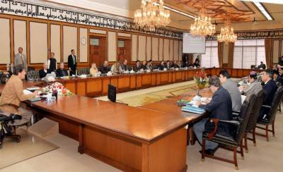 Federal cabinet meeting held in Islamabad with 13 points agenda, several key decisions taken