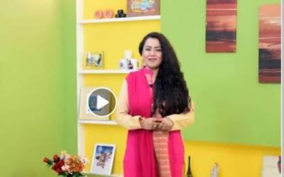 Female anchor Shanzay Rehman lands in hot waters