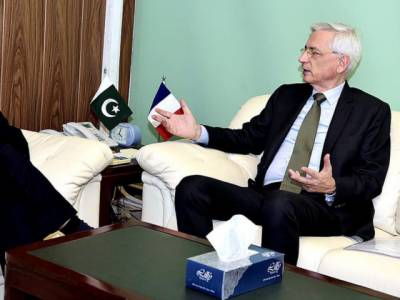 France expressed desire to enhance economic ties with Pakistan