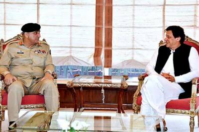 PM Imran Khan holds important meeting with COAS General Bajwa