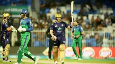 PSL: Quetta Gladiators beat Multan Sultans by 8 wickets