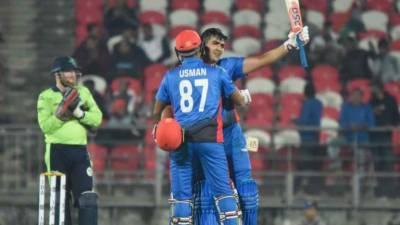 Afghanistan cricket team rewrites T20 International scorebooks with highest ever 278 runs