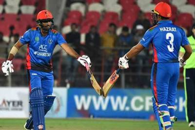 Afghanistan hit world record T20 score of 278-3