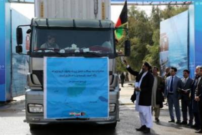 Afghanistan launches international trade route bypassing Pakistan