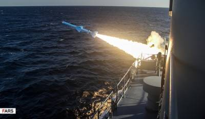 In a first, Iran fires submarine launched cruise missile