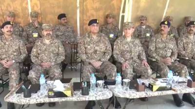 Pakistan Army Chief visit working boundary near Sialkot, lauds troops morale and readiness