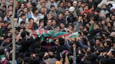 State terrorism: Indian troops martyr three more Kashmiri youth in fake encounter