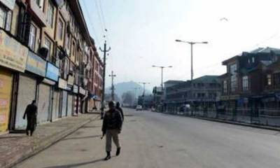 Complete shutdown in Occupied Kashmir against youth's killing