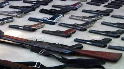 Kohat Police recover huge cache of arms, ammunition