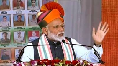 PM Modi begs for votes on basis of fake strike carried out against Pakistan