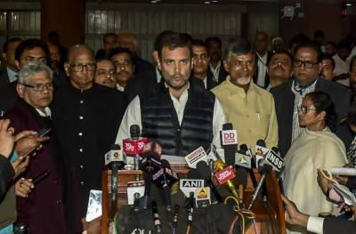 India: 21 Opposition parties express deep anguish over Modi's blatant politicization of prevailing security situation