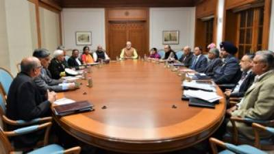 Indian PM Modi holds highest level meeting with services and intelligence chiefs, third in last 24 hours since PAF strike